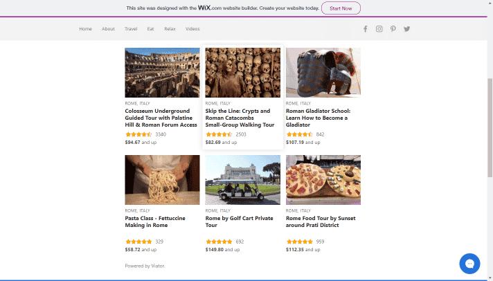 widget desktop view