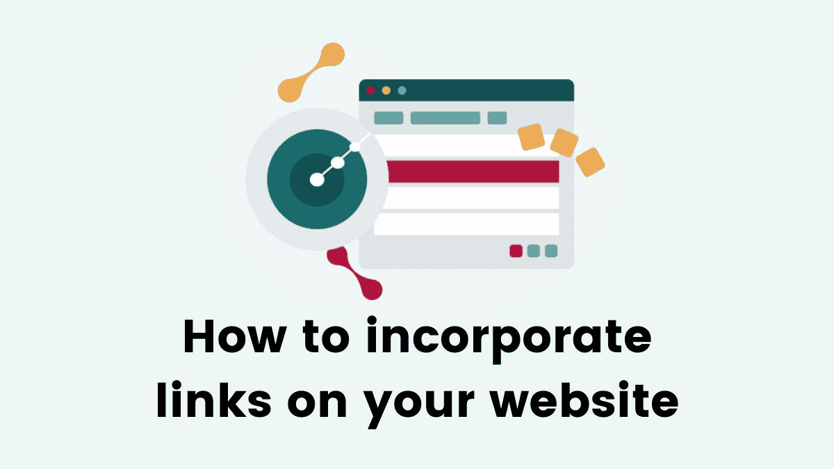 How to incorporate links into your website