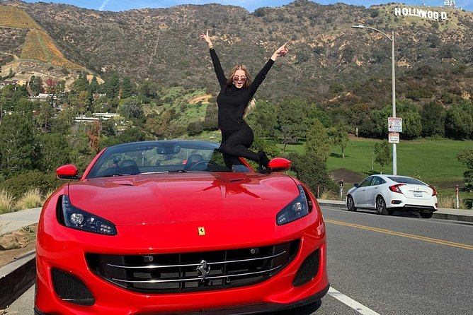 30-Minute Ferrari California Driving Tour To Hollywood Sign