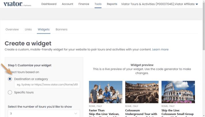 widget builder-destination-step1
