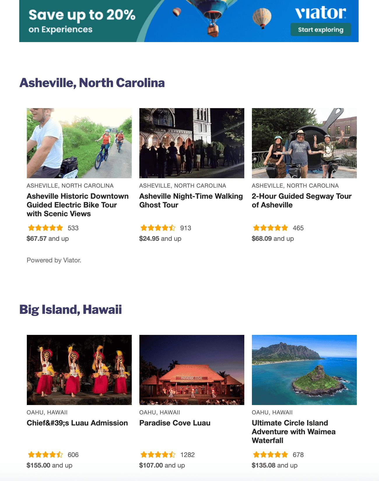 AmerExperience Website